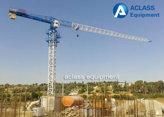 China 4 ton Free - Standing Stationary Topless Tower Crane Lift Machine For Construction supplier