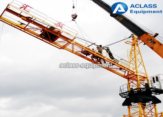 China Fixed External Climbing Tower Crane 8t Max.Load For High Building Construction supplier