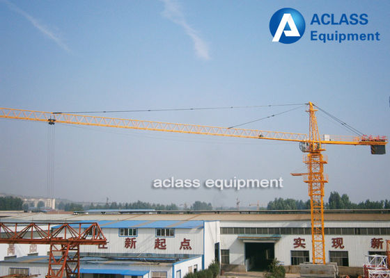 China 2.5 Ton Small Fixed Tower Crane Heavy Equipment for Lifting Building Materials supplier