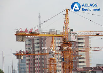 China Safety Mini 3t Fixed Tower Crane For Building Construction Equipments supplier