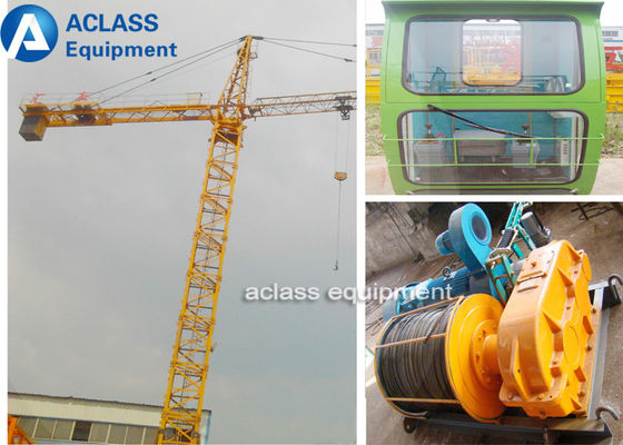 China Outside Hydraulic Telescopic Tower Crane For Civil Construction Projects supplier
