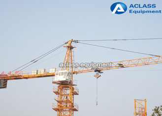 China Mini External Climbing Tower Cranes ,Telescopic Jib Crane 380v/50hz 4 Tons supplier