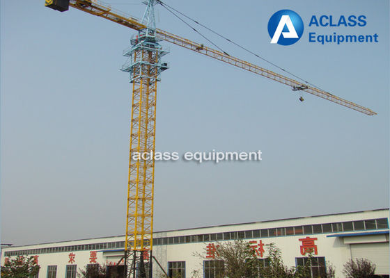China Hammerhead Fixed Tower Crane for High Rising Building Construction , ISO supplier