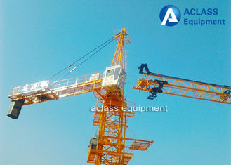 China 1.0 ton Tip Load 60m Jib Hammerhead Tower Crane , Overhead Construction Equipment supplier