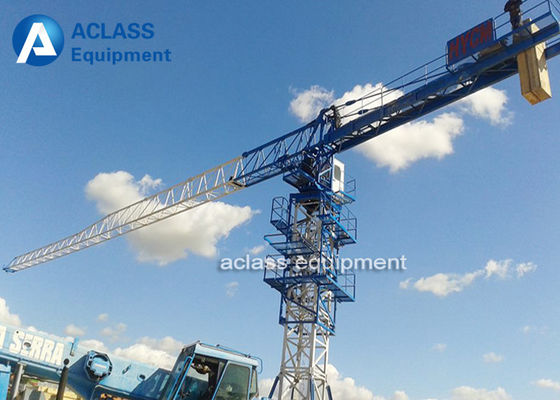 China Heavy Lifting Equipment Topless Tower Crane T type 5tons 50m Boom Length Quotation supplier