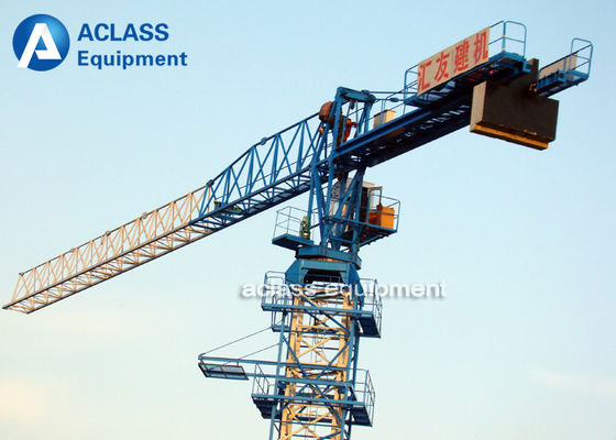 China Self Climbing Topless Tower Crane 6 ton Colorful Hoist Heavy Construction Equipment supplier