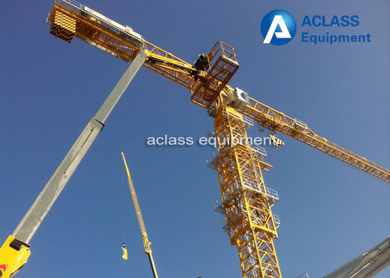 China Strong Torsional Strength 55m Jib Topless Tower Crane Heavy Equipment supplier