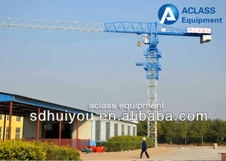 China Construction Lift Equipment Flat Top Tower Crane 6 Ton 55 Meters Jib supplier