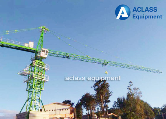 China Trolley Travel 60m Boom Length External Climbing Tower Lifting Equipment 10 Ton supplier