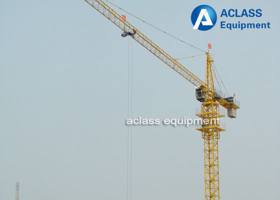 China Building Construction Tools And Equipment 8 ton Saddle Jib Tower Crane supplier
