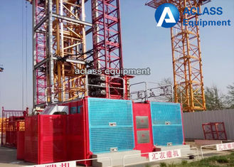 China Normal speed Construction Building Material Hoist Elevator Cage 3 Tons supplier