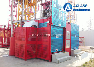 China 4 Ton Construction Hoist Elevator , Building Construction Materials List for Chimney supplier