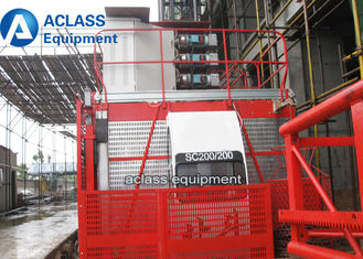 China Frequency Conversion Construction Hoist Elevator 3 ton Cargo Material Lifting Equipment supplier