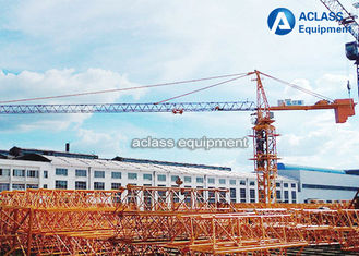 China Large 12 Tons External Climbing Tower Crane With Luxury Cab Operation Room supplier