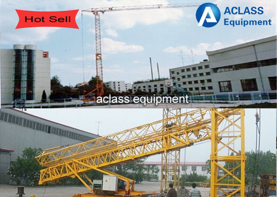 China Construction Lifting Equipment 2t Self Erecting Tower Crane Energy Saving supplier