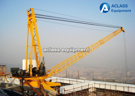 China 6 Tons Derrick Crane 2420 Disassembly Inner Climbing Tower Crane , ISO supplier