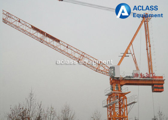China Split Structure Luffing Jib Tower Crane Machinery for Construction Equipment supplier