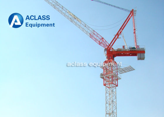 China Highe Performance Luffing Jib Tower Crane D160 5030 50m Jib Boom Length 12t Load supplier