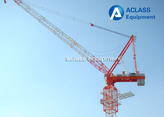 China Buildings Mobile Lifting Equipment Luffing Jib Tower Crane Mchine 10 t supplier