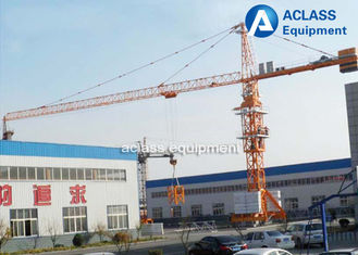 China 6 Ton Base Mobile Tower Crane Lift Machine For Construction 40 m Height supplier