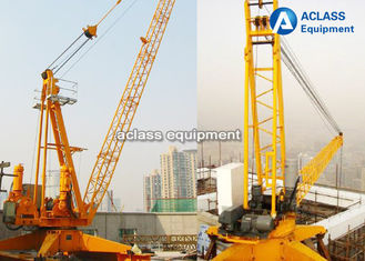 China Industrial Roof 24m Boom Derrick Crane 2.0t Tip Load 150-200m Max. Height supplier