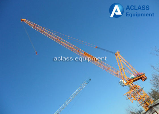 China QTD300 Luffing Jib Tower Crane With LVF Variable Frequency Hoist Mechanism supplier