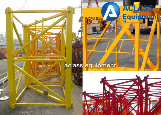 China OEM Angle Steel 140*12mm Mast Section for Construction Tower Crane supplier