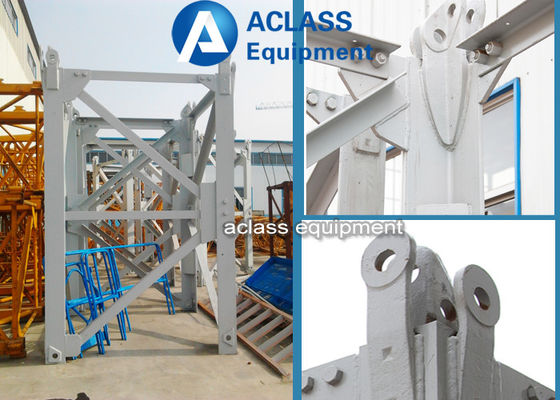 China Tower Crane Spare Parts Block / Split Mast Sections Multi Size For Construction Machinery supplier