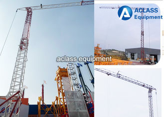 China 2 Tons Construction Self Erecting Tower Cranes 25 Meters Mini Jib / Boom supplier
