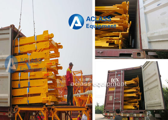 China Split Tower Crane Structure 2000*2000*3000 mm With 200*20mm Angle Steel supplier