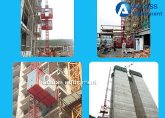 China 1-4t Rack / Pinion Construction Hoist Elevator supplier