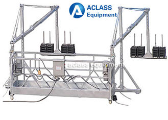 China 630 kg Wire Rope Suspended Working Platform with for Building Construction supplier