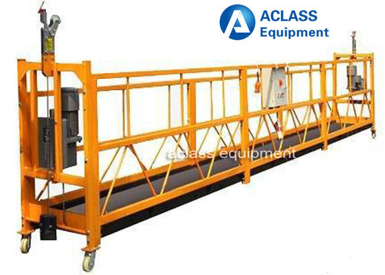 China 100 m Height Suspended Scaffold Platform Building Construction Tools And Equipment supplier