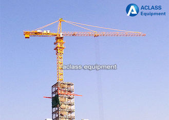 China Fast Erecting Internal Climbing Building Tower Crane For Lifting Heavy Equipment supplier