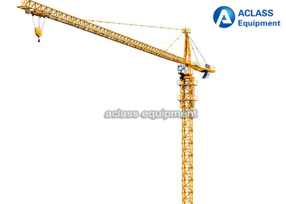 China QTZ 160 Self - Erecting Hammerhead Tower Crane 60 Meter Electric Top Slewing supplier