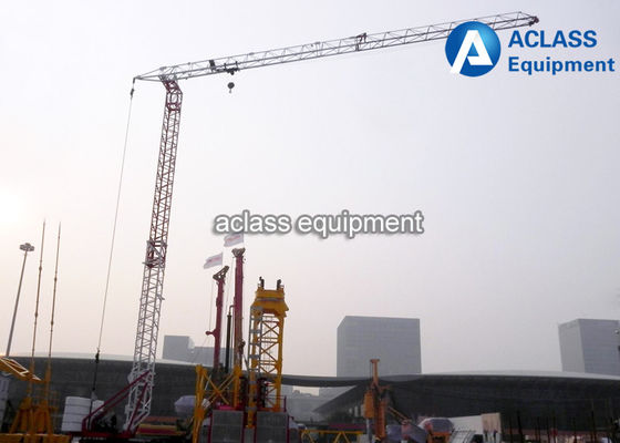 China QTK25 Self Rising Tower Cranes Mini Self - Erection Grue For Construction supplier