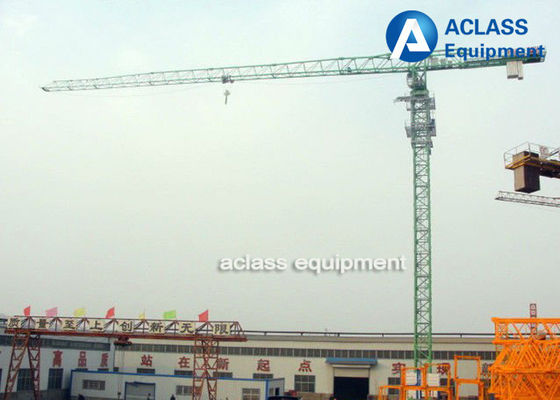 China 5 ton Topless Tower Crane 50m Jib Overhead Crane with Wire Rope Limit switch supplier