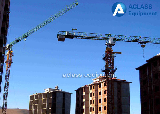 China Safety Devices Topless Tower Crane 5t Crane Including Hydraulic Cylinder supplier