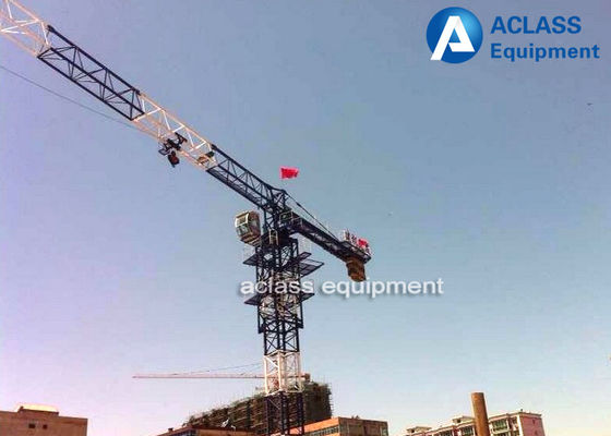 China QTP50 Topless Tower Crane PT5010 Hydraulic Crane Remote Control Fixed supplier
