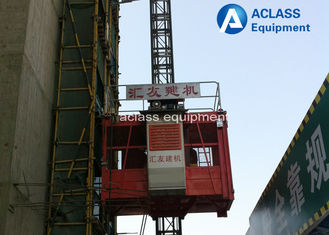 China 4 Ton Lifting Passengers Construction Site Elevator Materials SC200/200 supplier
