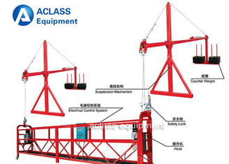 China 6m Suspended Working Platform ZLP630 Lift Table with Swing Stage supplier