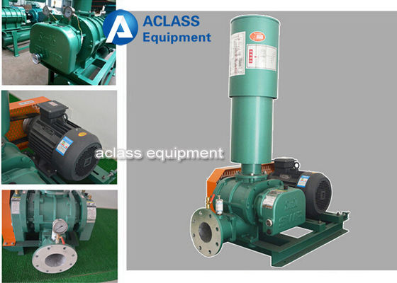 China 150 Volumetric Roots Rotary Lobe Blower Air Cooling Roots Air Blower supplier