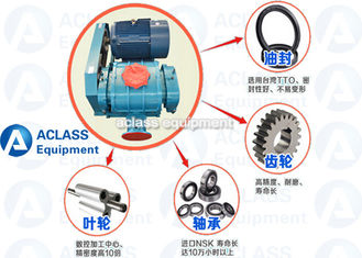 China 250 Biogas Compressor Booster Roots Rotary Lobe Blower ISO Lobe Type Blower supplier