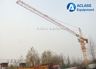 China Construction Hammerhead Tower Crane 40m Free Height 150m Max Height Lifting supplier