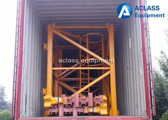 China Blue White Spare Parts Block Structure Mast Section Used for 2.5 Ton To 25 Ton supplier