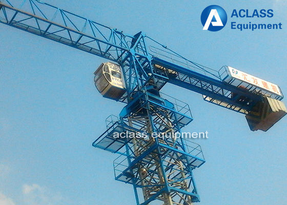 China QTP5010 Flat Head  5t Mobile Tower Crane Including Counterweight supplier