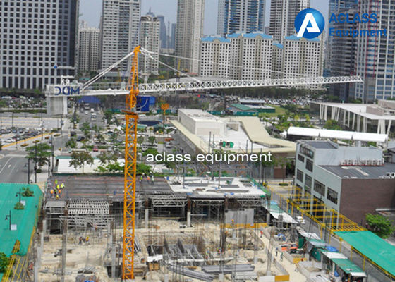 China TC5010 Inner Climbing Tower Crane 1ton Building Construction Safety Equipment supplier