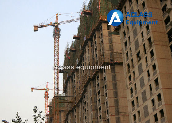 China Outrigger Hammerhead Tower Crane 2*2*3m Split Mast Section GOST supplier