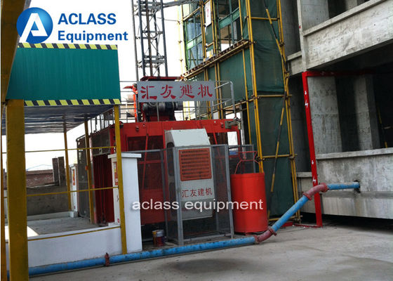 China 4 Ton Construction Hoist Elevator For Lifting Passengers Materials SC200/200 supplier