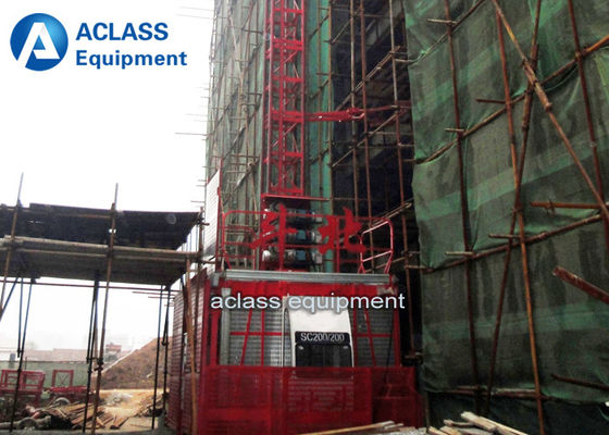 China 1T Outer Building Construction Hoist Elevator Safety Inverter Control supplier